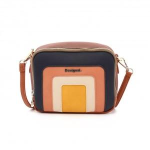 מוצרי דסיגואל לנשים Desigual Bols Tutticolori Jasper - סגול/ורוד