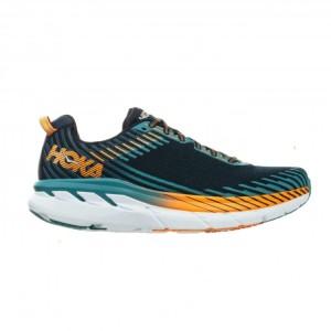 נעליים הוקה לגברים Hoka One One Clifton 5  - כחול/כתום