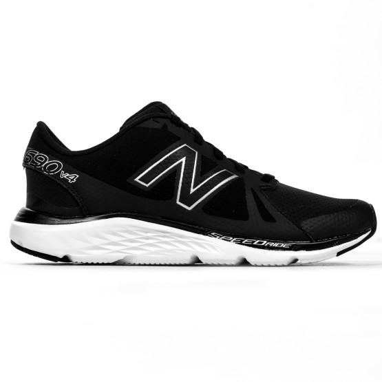 נעליים ניו באלאנס לגברים New Balance M690 - שחור/לבן