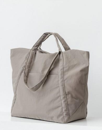 אביזרים באגו לנשים BAGGU Travel Cloud bag - אפור בהיר