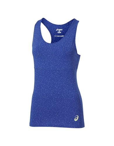 ביגוד אסיקס לנשים Asics Racerback Top - כחול