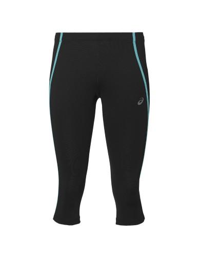 ביגוד אסיקס לנשים Asics Knee Tight - שחור/כחול