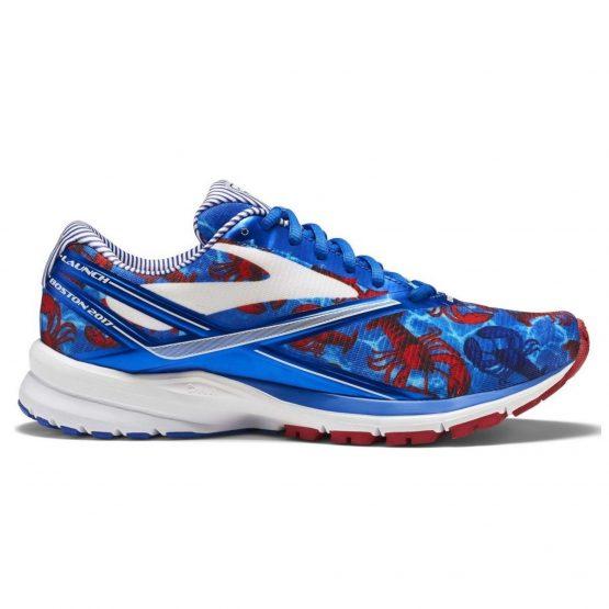 נעלי ריצה ברוקס לנשים Brooks Launch 4 - כחול/אדום