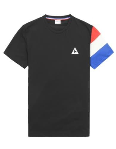 חולצות אופנה לה קוק ספורטיף לגברים Le Coq Sportif TRI SP BBR - שחור