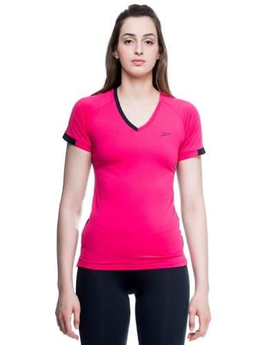 ביגוד ספידו לנשים Speedo Aerobic shirt - ורוד