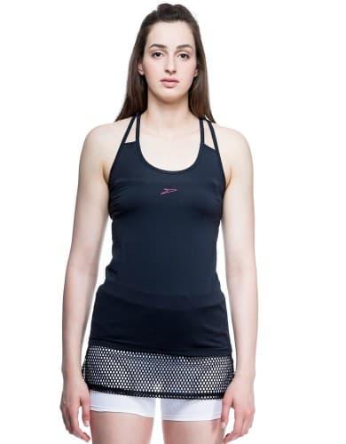 ביגוד ספידו לנשים Speedo Aerobic shirt - שחור
