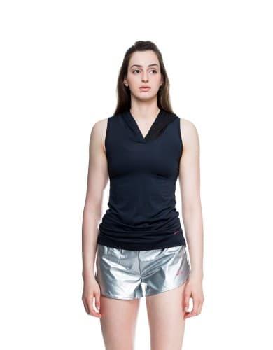 ביגוד ספידו לנשים Speedo Hooded shirt - שחור