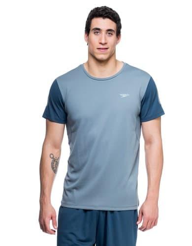 ביגוד ספידו לגברים Speedo Shirt - אפור