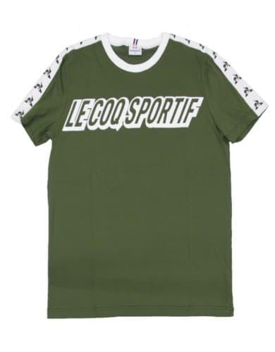 חולצות אופנה לה קוק ספורטיף לגברים Le Coq Sportif INSPI FOOTBALL - ירוק