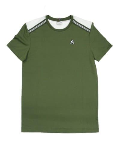 חולצות אופנה לה קוק ספורטיף לגברים Le Coq Sportif Tee SS ALUF N1 - ירוק