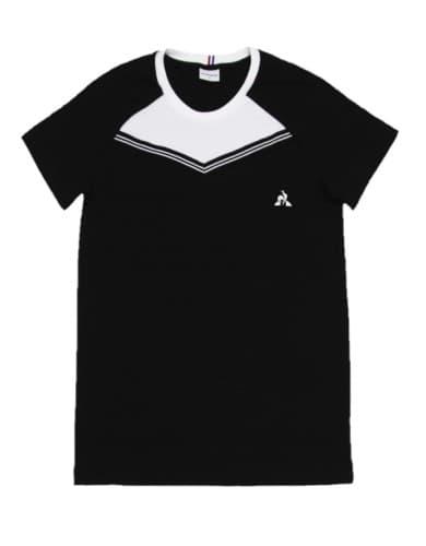 חולצות אופנה לה קוק ספורטיף לגברים Le Coq Sportif Tee SS ALUF N2 - שחור