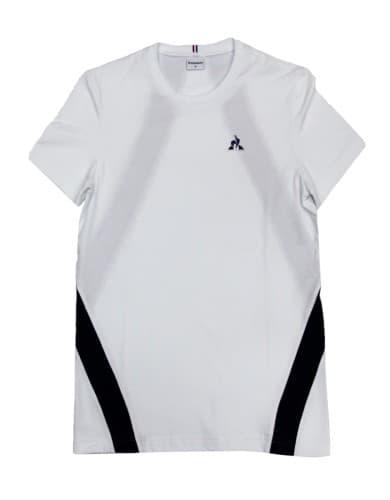 חולצות אופנה לה קוק ספורטיף לגברים Le Coq Sportif Tee SS ALUF N7 - לבן