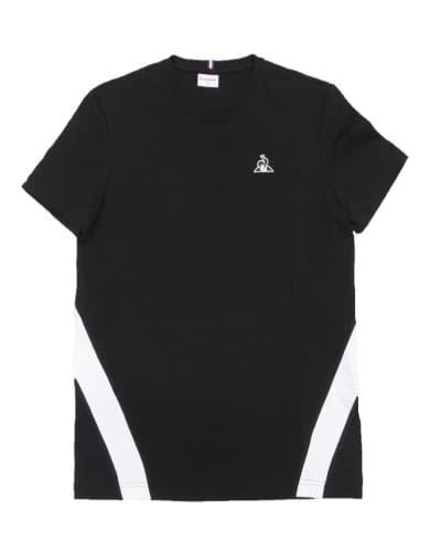 חולצות אופנה לה קוק ספורטיף לגברים Le Coq Sportif Tee SS ALUF N7 - שחור