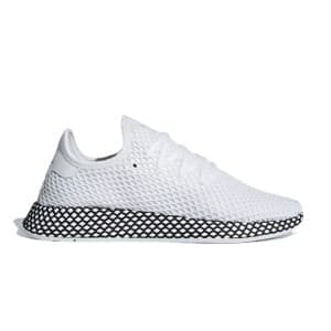 נעליים Adidas Originals לגברים Adidas Originals DEERUPT RUNNER - לבן/שחור