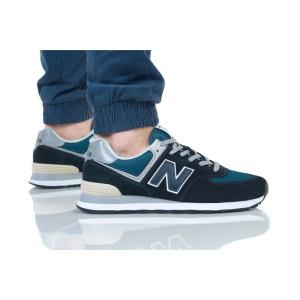נעליים ניו באלאנס לגברים New Balance ML574 - טורקיזשחור
