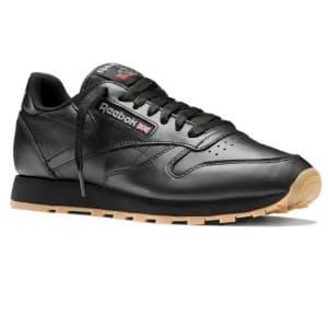 נעליים ריבוק לגברים Reebok CLASSICS LEATHER - שחור