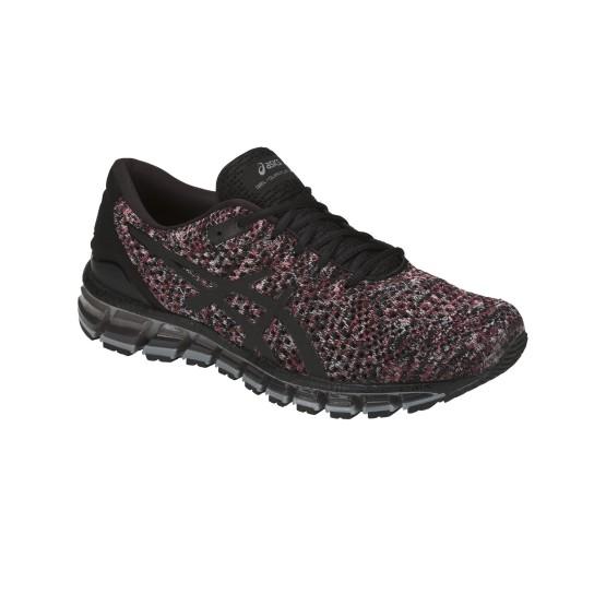 נעליים אסיקס לגברים Asics 2 GEL Quantum 360 Knit - שחור/אדום