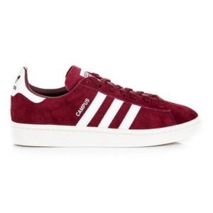 נעליים Adidas Originals לגברים Adidas Originals CAMPUS - בורדו/אדום