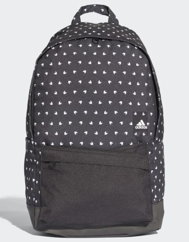 אביזרים אדידס לנשים Adidas CLASSIC BACKPACK - שחור הדפס