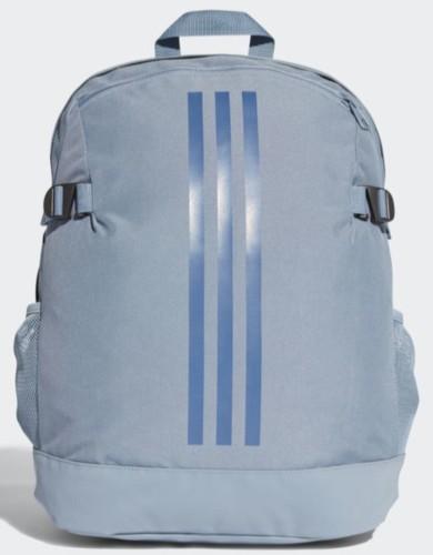 אביזרים אדידס לנשים Adidas STRIPES POWER BACKPACK - אפור/כחול