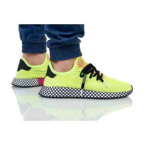 נעליים Adidas Originals לגברים Adidas Originals DEERUPT RUNNER - צהוב