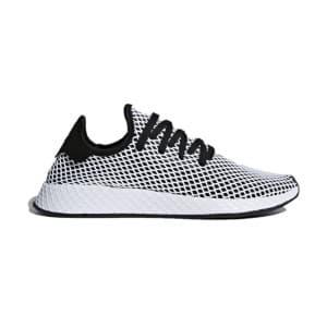 נעליים Adidas Originals לגברים Adidas Originals DEERUPT RUNNER - שחור/לבן