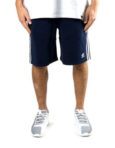 מכנסי אופנה Adidas Originals לגברים Adidas Originals S STRIPES SHORT - כחול כהה