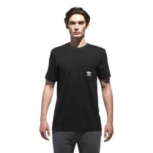 חולצות אופנה Adidas Originals לגברים Adidas Originals D SS T B - שחור