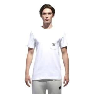 חולצות אופנה Adidas Originals לגברים Adidas Originals D SS T B - לבן
