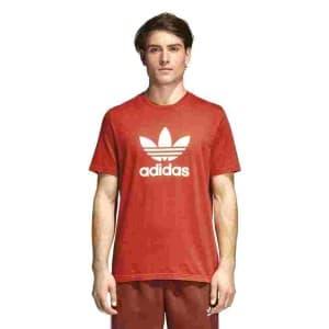 חולצות אופנה Adidas Originals לגברים Adidas Originals TREFIOL T  SHIRT - אדום