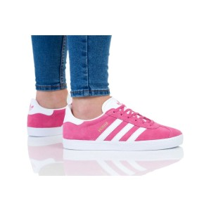 נעליים Adidas Originals לנשים Adidas Originals GAZELLE - ורוד כהה  זהב