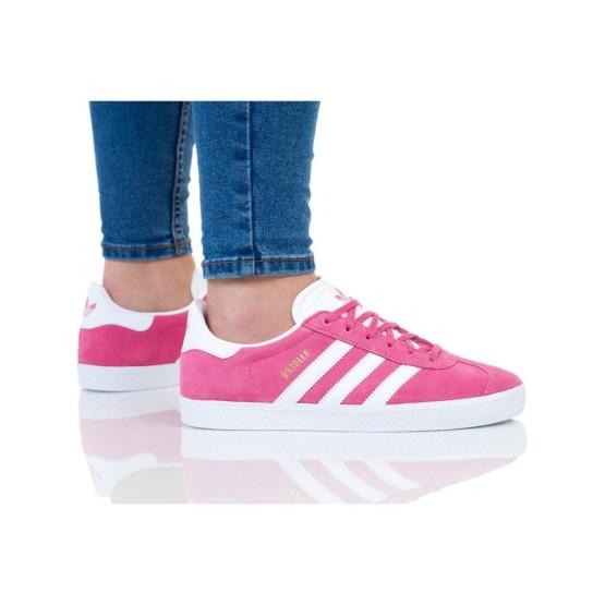 נעליים Adidas Originals לנשים Adidas Originals GAZELLE - ורוד כהה  זהב