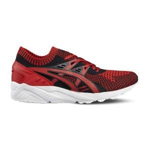 נעליים אסיקס טייגר לנשים Asics Tiger Gel kayano Trainer Knit - שחור/אדום