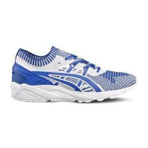 נעליים אסיקס טייגר לנשים Asics Tiger Gel kayano Trainer Knit - כחול/לבן