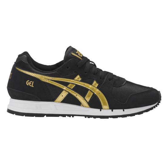 נעליים אסיקס טייגר לנשים Asics Tiger Gel movimentum - שחור/צהוב