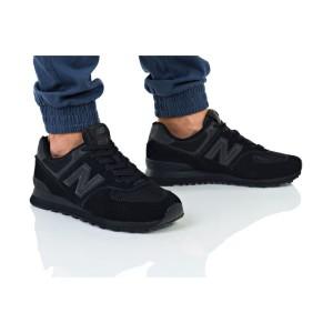 נעליים ניו באלאנס לגברים New Balance ML574 - שחור מלא