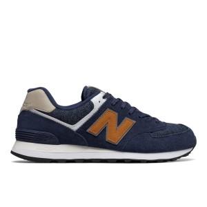 נעליים ניו באלאנס לגברים New Balance ML574 - כחול כהה