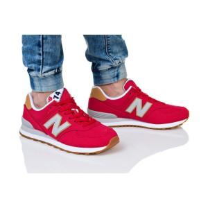 נעליים ניו באלאנס לגברים New Balance ML574 - כחול/לבן