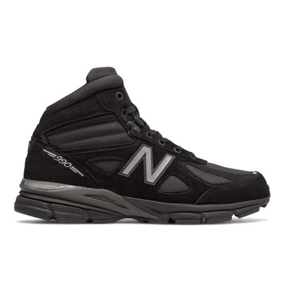 נעלי הליכה ניו באלאנס לגברים New Balance MO990 V4 - שחור