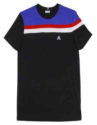 חולצות אופנה לה קוק ספורטיף לגברים Le Coq Sportif Tee SS ALUF N6 - שחור