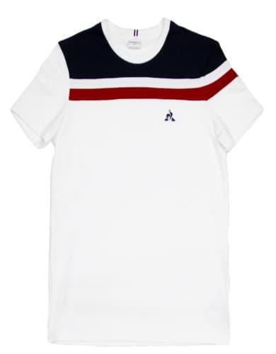 חולצות אופנה לה קוק ספורטיף לגברים Le Coq Sportif Tee SS ALUF N6 - לבן
