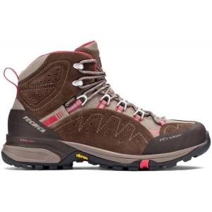 נעלי טיולים Tecnica לנשים Tecnica T CROSS HIGH GTX - חום/בז'