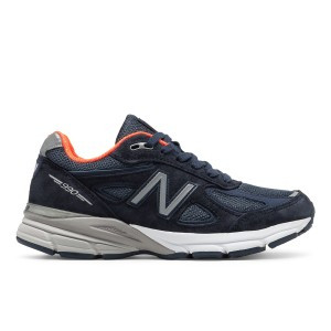 נעליים ניו באלאנס לנשים New Balance W990 V4 - כחול כהה