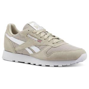 נעליים ריבוק לגברים Reebok LEATHER - בז'