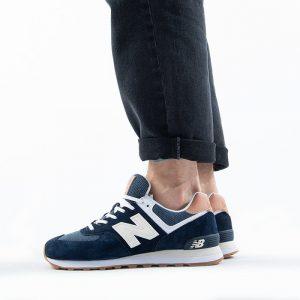 נעלי סניקרס ניו באלאנס לגברים New Balance ML574 - חוםכחול
