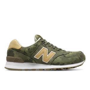 נעליים ניו באלאנס לגברים New Balance ML574 - ירוק