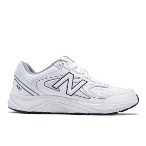 נעלי הליכה ניו באלאנס לגברים New Balance MW840 - לבן