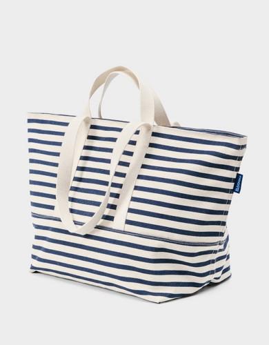 אביזרים באגו לנשים BAGGU Weekend Bag - כחול/לבן