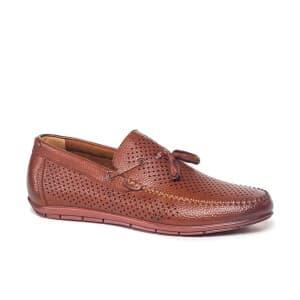 נעליים אלגנטיות קוואטרו קוואלי לגברים Quattro Cavalli 8601 - חום