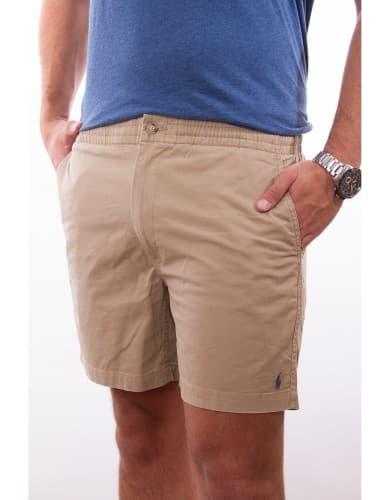 ביגוד פולו ראלף לורן לגברים Polo Ralph Lauren Classic Fit Polo Shorts - קאמל